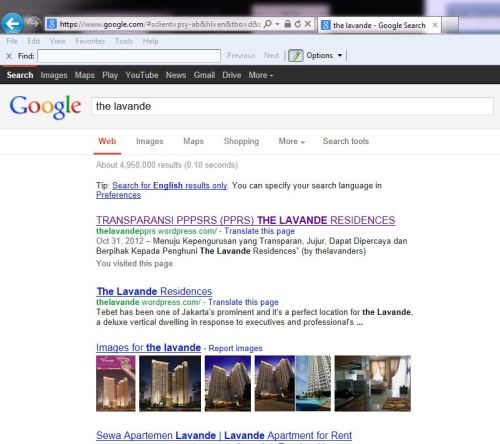 The Lavande Key di Google
