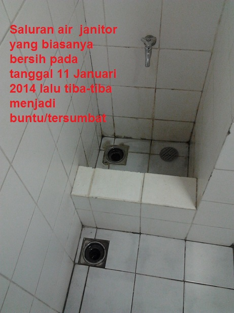 Air Janitor Luber - Banjir di Lantai 27 Tower C - 11 January 2014 - A