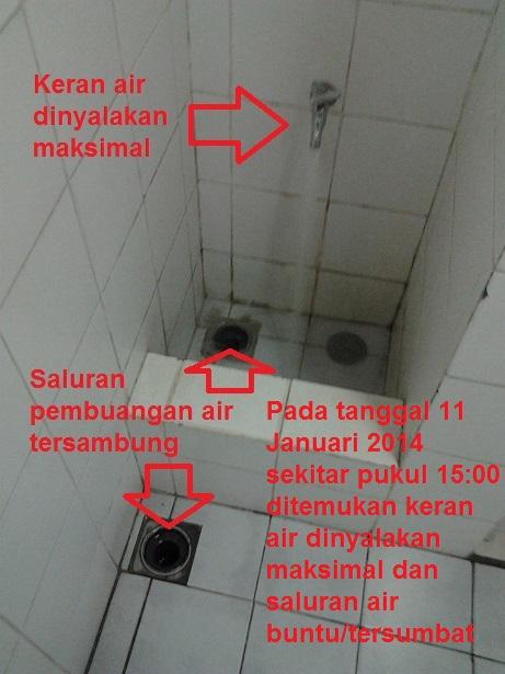 Air Janitor Luber - Banjir di Lantai 27 Tower C - 11 January 2014 - B