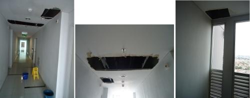 Kebocoran di Lantai 27 Tower C Yang Tak Kunjung Diperbaiki as of Feb 2013