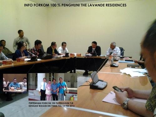 1Pertemuan Forkom dengan Wakil Gubernur DKI Jakarta