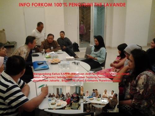 2Mengundang Ketua KAPPRI - Brigjen TNI Purn Krismanto Prawirosumarto