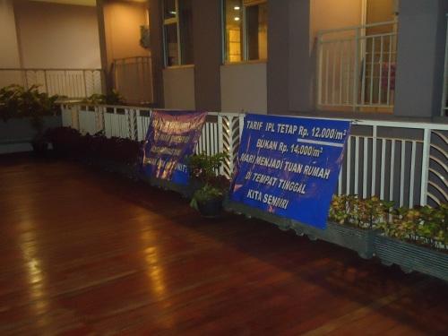 4Sosialisasi IPL dan Parkir di Lapangan Kayu