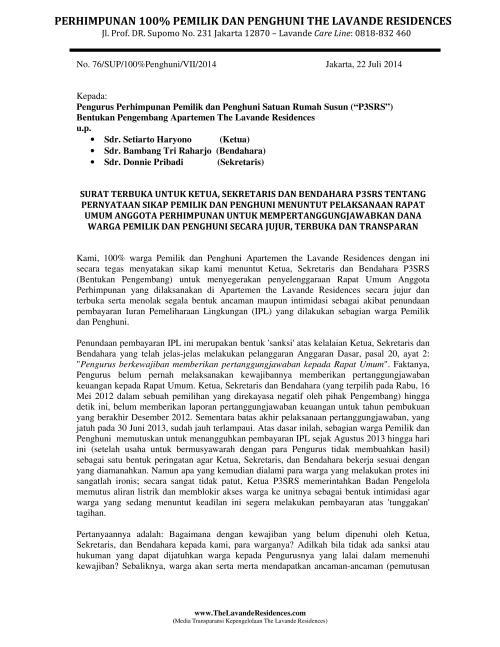 Lavande - Surat utk PPRS - Pernyataan Sikap - 23 Juli 2014 ver 03a_01