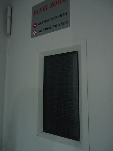 Control Panel Ditutup Kertas Hitam 02