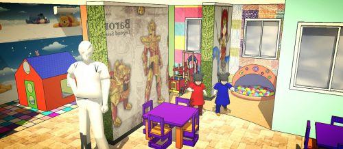 Rancangan Ruang Bermain Anak The Lavande Residences a