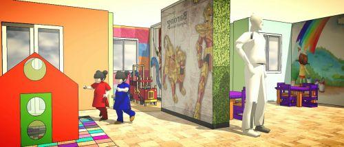 Rancangan Ruang Bermain Anak The Lavande Residences b
