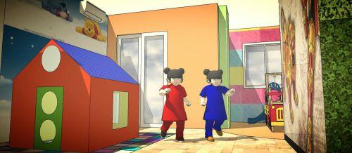 Rancangan Ruang Bermain Anak The Lavande Residences c